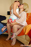Martha&Gertie lesbian MILF licks girl