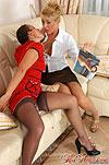 Bridget&Sheila age gap lesbians