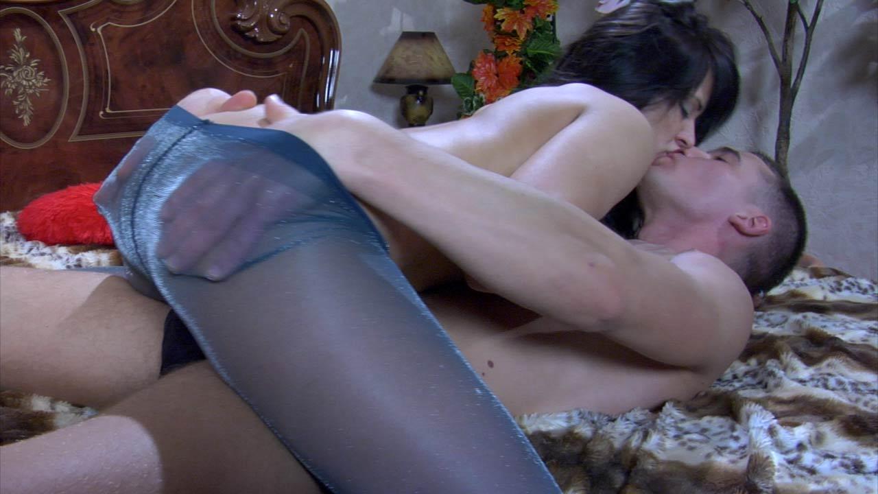Pantyhose as sex anal