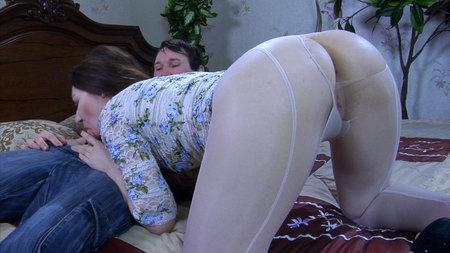 Crystal&Rolf nasty anal pantyhose video