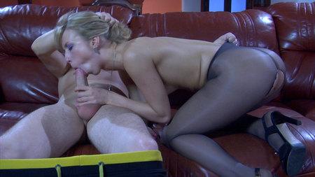 FeliciaC&Rolf horny anal pantyhose movie