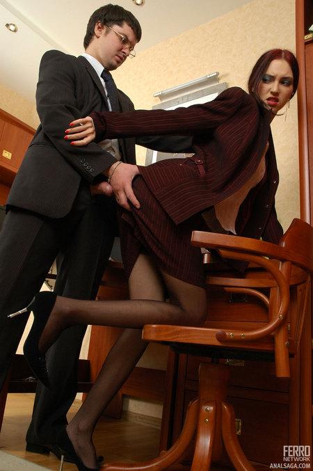 секретарша дает фото