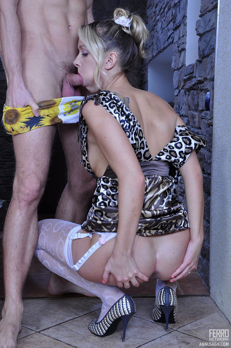 Denis&Charles B sexy lady assfucked