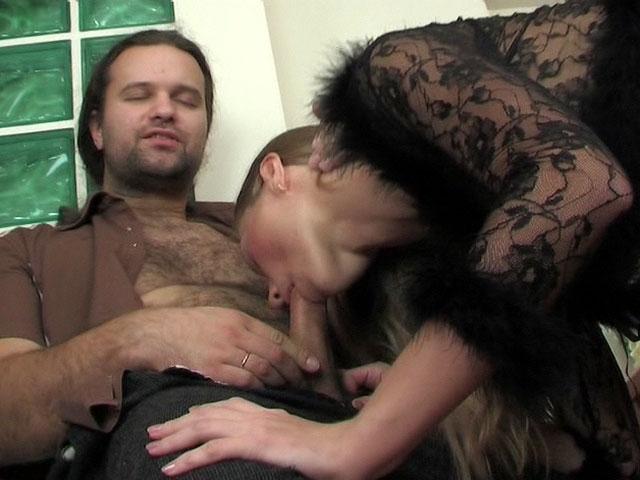 Diana and Lesley frisky anal movie