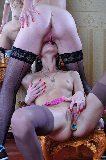 Backdoor Lesbian girls porn