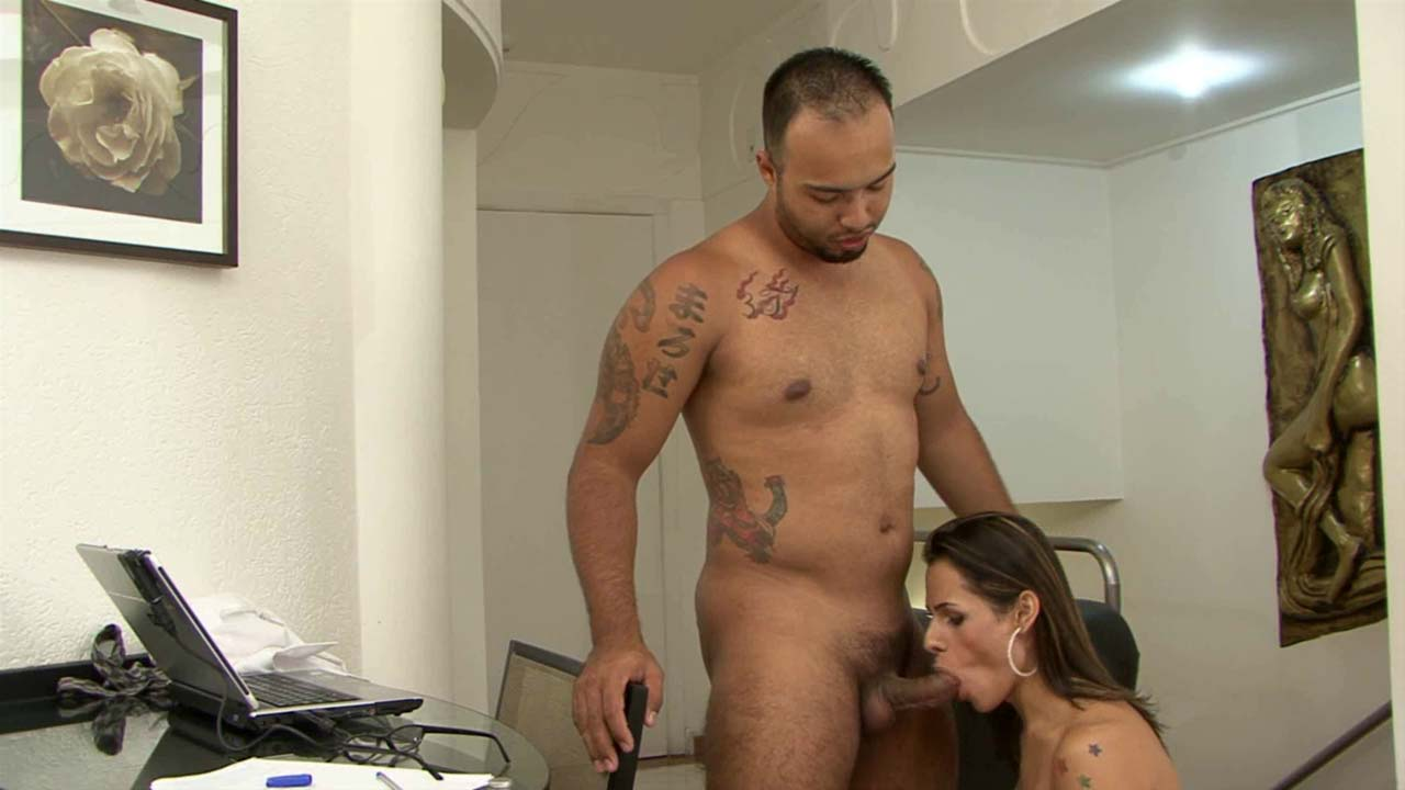 Yasmin and Mateus awesome shemale movie