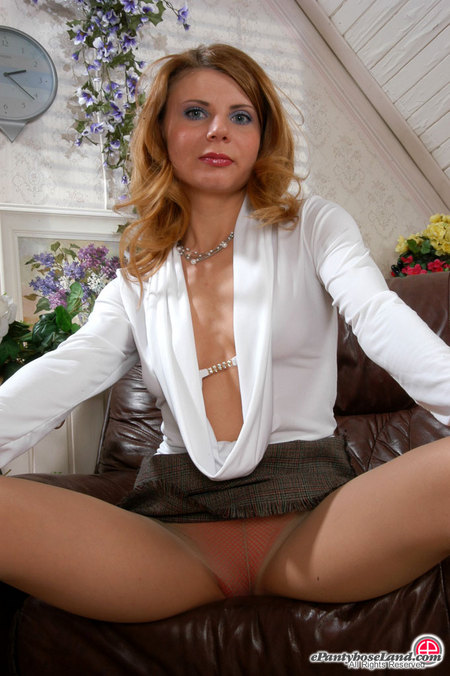 Alice in pantyhose