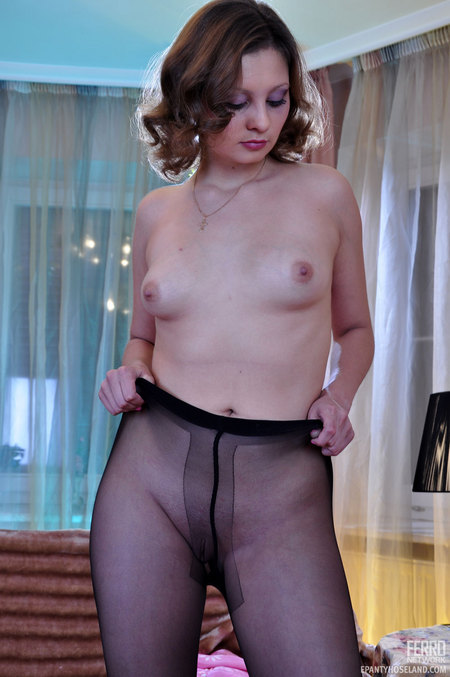 Onto the pantyhose instead of