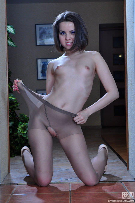 Bomb Cora Hot Pantyhose Wearer Emmie 104