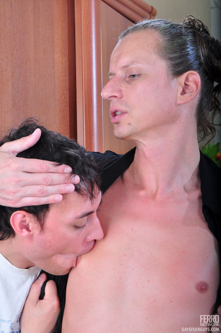 ... hard his straight boy and take his engorged boner into his eager gay ...
