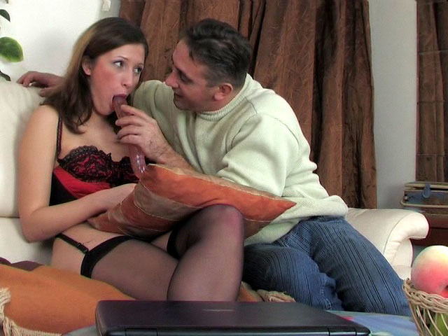 Jaclyn and Frank daddy sex movie