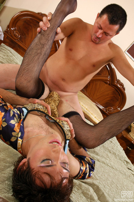 daily gay porn. Jack & Monty know sweat homo-sexual sissy likes to get his ...