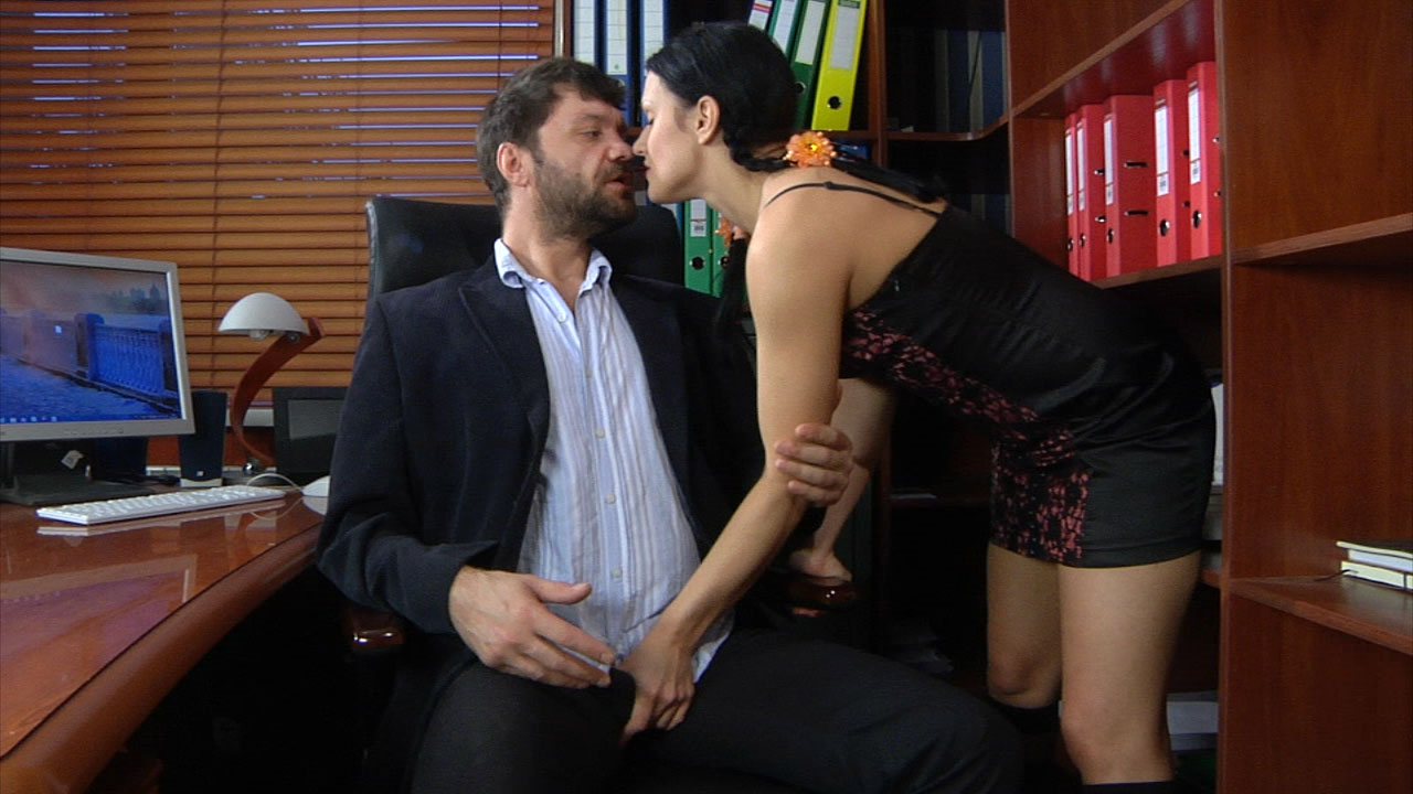 Sibylla and Marcus M girl and oldman action