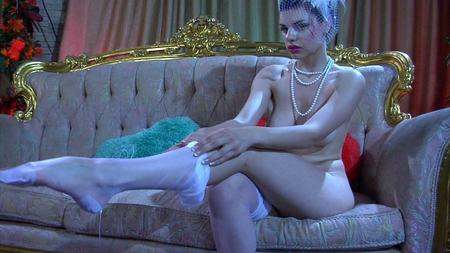 ... her soft sexy svelt sheer nylons and then into her dripping tight pussy.