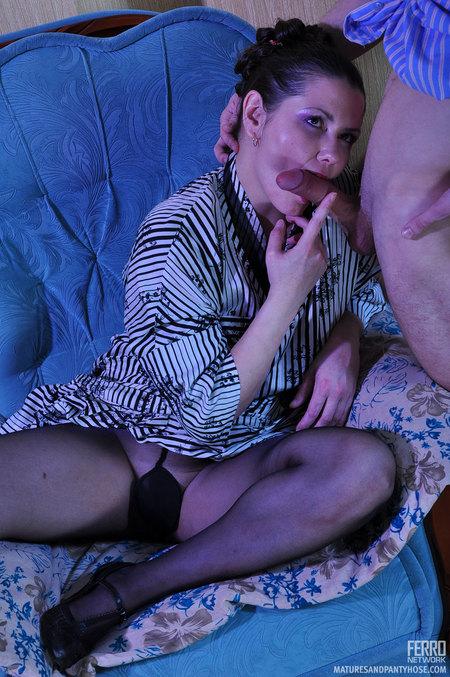 Elisabeth Ninette Mature Pantyhose Movie Maturesandpantyhose 23