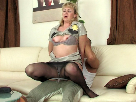 Mature russian emilia fucked in the office