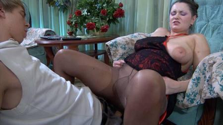Elisabeth Ninette Mature Pantyhose Movie Maturesandpantyhose 111