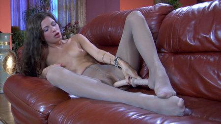 Nylon Feet Line porn
