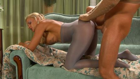 Tina and rolf pantyhose fuck - 2 5