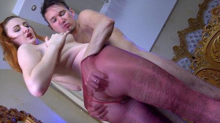 Bertie A&Rolf screened while pantyhosefucking