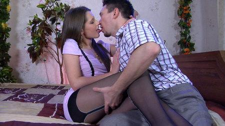 Pantyhose Line porn