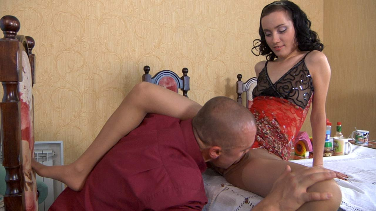 Veronica and Nicholas great pantyhose movie