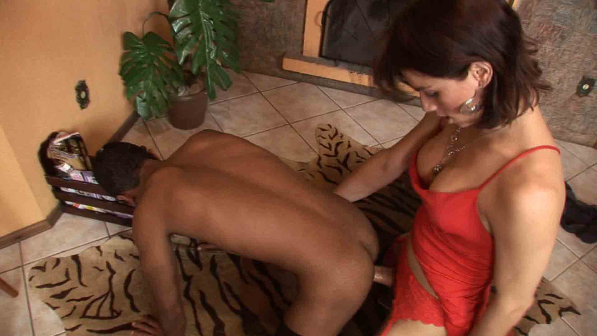 Adriana and Junior tranny dicking guy on