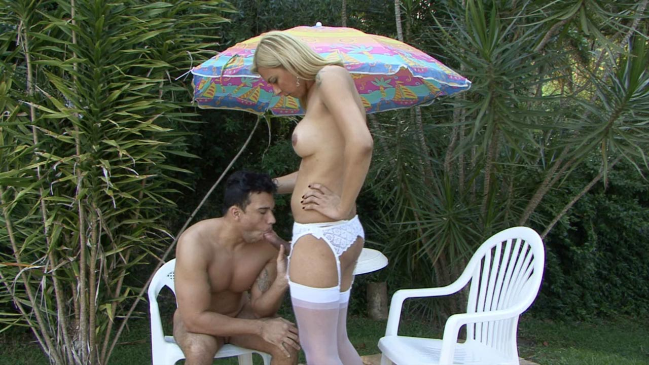 Angel and Senna tranny and pussyguy in
