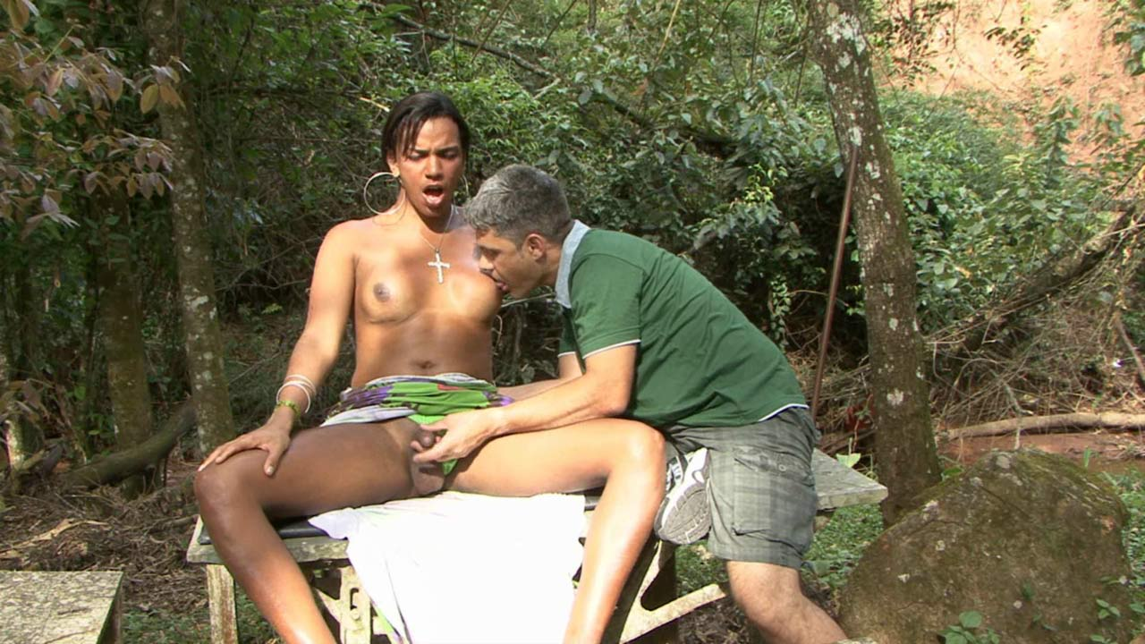 Camila and Ricardo shemale and pussyboy on