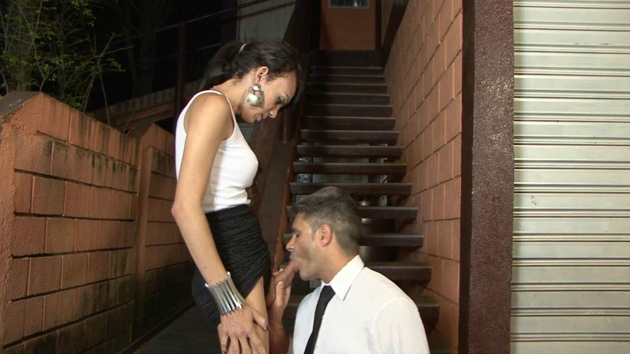 Isabela and Ricardo tranny and pussyguy in