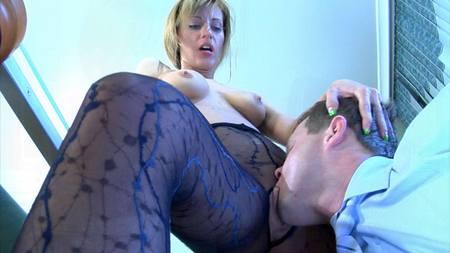 Secretary Hosiery porn