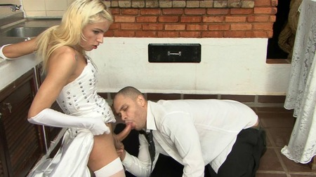 Submissive bride fuck pussy