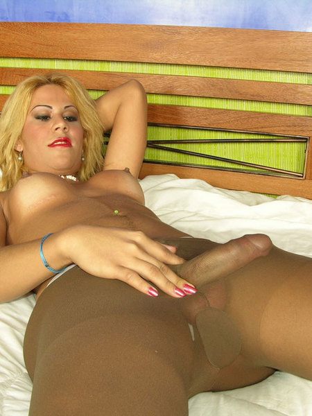 Opinion Tranny pantyhose cum for