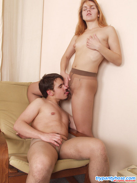 couple trying pantyhose sex pantyhose