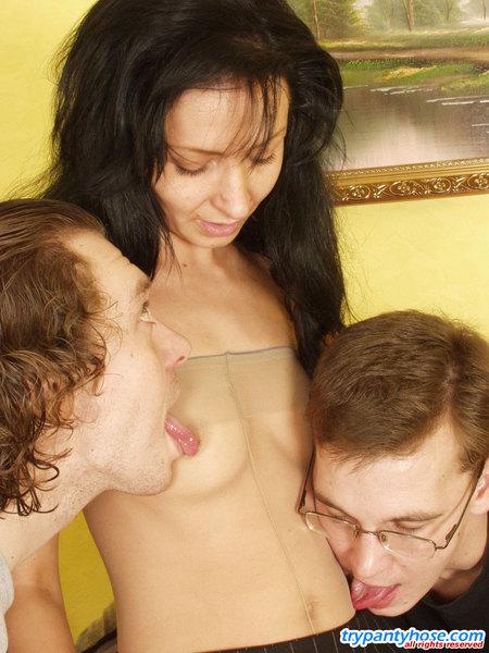 Bisexual Pantyhose 86